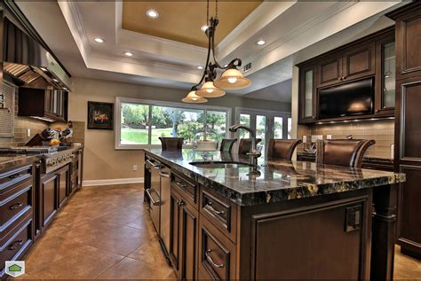 kitchen cabinets tall ceilings lighting for high ceilings kitchen traditional with dark