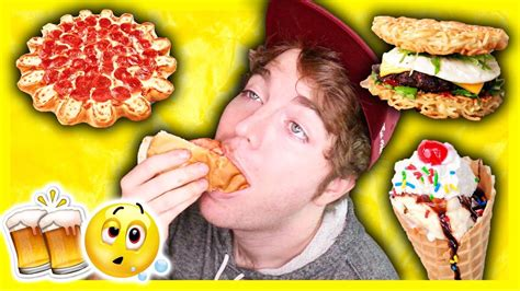 Tasting Drunk People Foods Youtube