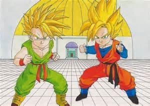 Son Goten and Trunks