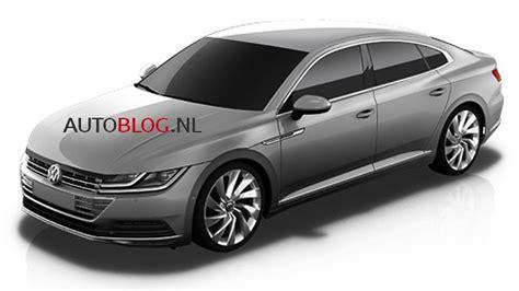 Volkswagen Cc 2018  Les Premières Images Officielles