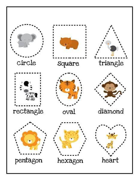 zoo shapes activities 171 preschool and homeschool