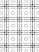 Coloring Quilt Sheets Patterns Block Pattern Geometric Mandala sketch template