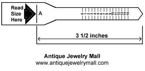 printable ring sizer find  ring size international ring size ch antique jewelry mall