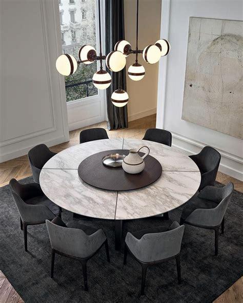 table ronde cuisine voici la salle à manger contemporaine en 62 photos