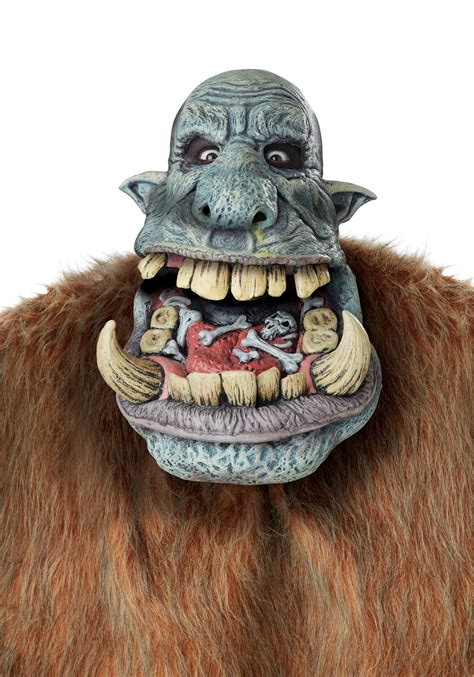 Halloween Decorations Pinterest Outdoor by Battle Troll Big Mouth Mask