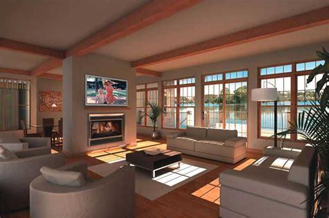 beachfront house plan  bedrms  baths  sq ft