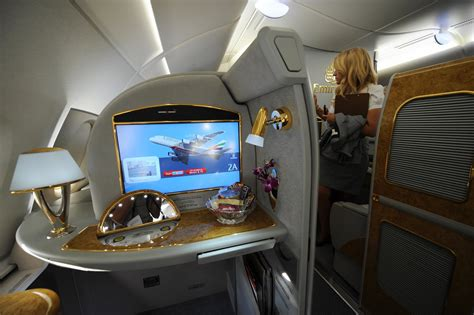 emirates airline class cabin emirates airlines airbus a380 popsugar career and finance