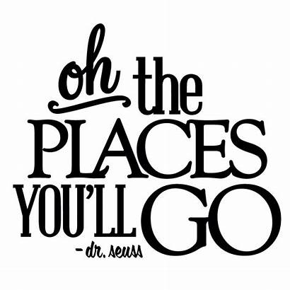 Places Oh Ll Clipart Quotes Graduation Silhouette
