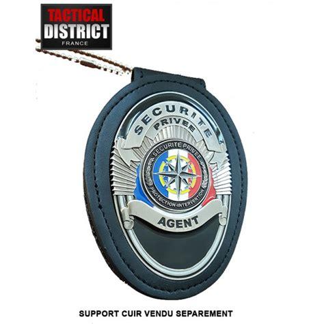 protection bureau cuir plaque de ceinture de securité privée