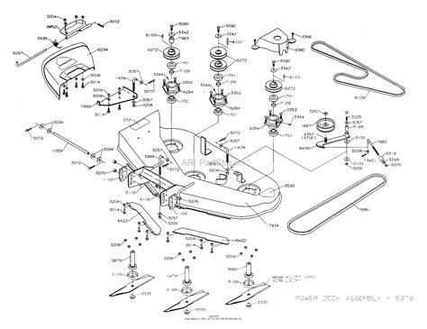 dixon ztr   parts diagram  mower deck