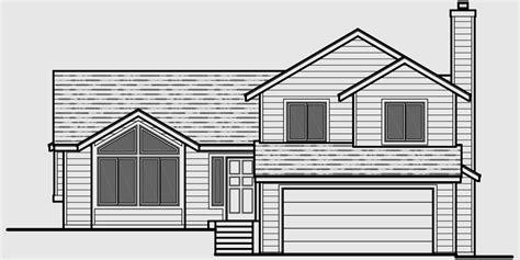 split level house plan home design split level house plans with attached garage