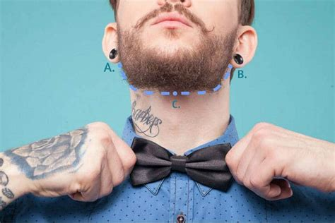 beard neckline   trim perfectly beardstyle
