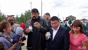 Steven Seagal travels to Siberia in search of diamonds ...