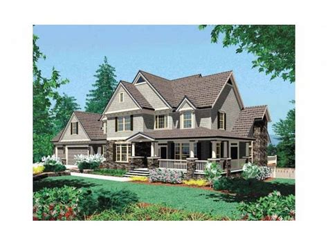 Craftsman Style House Plan 4 Beds 3 5 Baths 3155 Sq/Ft
