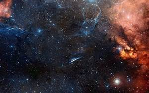 Galaxy and Star 4k UHD wallpaper
