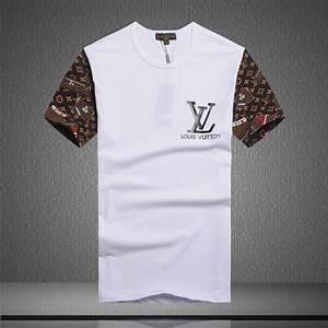 T Shirt Louis Vuitton Homme : louis vuitton short sleeve men t shirts lv18867 cheap ~ Melissatoandfro.com Idées de Décoration