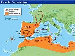 Muslim Conquest Of Persia Map