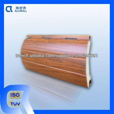 lames en aluminium couleur bois pour volets roulants beaucoup de couleurs disponbles volets id