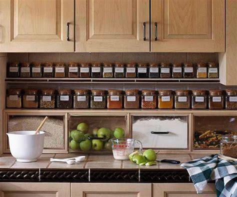 Kitchen Organization : Spice Storage