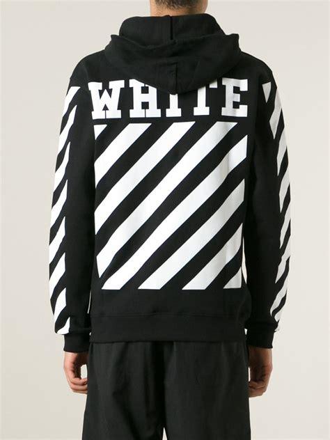 white  virgil abloh  caravaggio hoodie