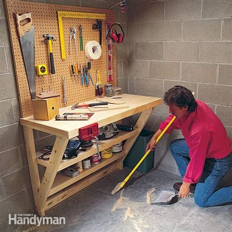 wood work bench  family handyman
