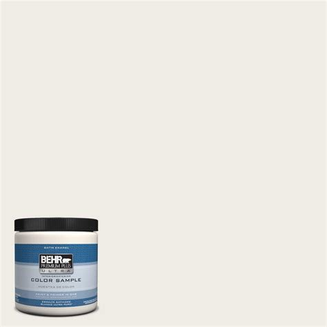 behr premium plus ultra 8 oz ppu7 12 silky white