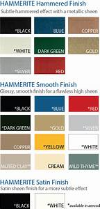 S G Bailey Paints Ltd Hammerite Colours