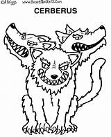 Coloring Scary Monster Pages Greece Monsters Cerberus Ancient Drawing Greek Sheets Mythology Draw Awesome Drawings Wiggles Easy Roman Crafts Printable sketch template