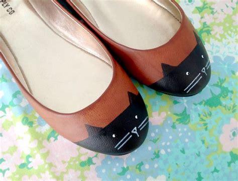 Zapatos Con Carita De Gato En Manualidades Y Detalles Para