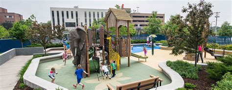 John A. Sullivan Playground U Of M Masonic Children's Hospital