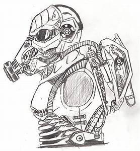 GasMasked Soldier by TITANOSAUR on DeviantArt