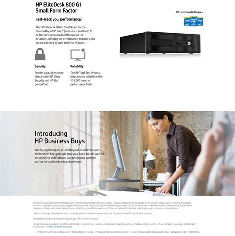 You may see a random. Ex-Lease HP 800 G1 SFF, i5/8GB/128GBSSD + 500GBHDD/W10P - JW Computers