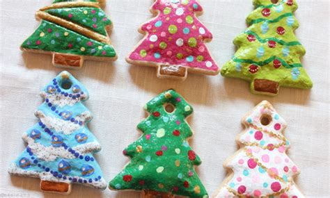 diy painted salt dough christmas ornaments pearmama