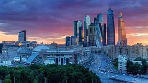 Moscow International Business Center, Russia (© Nikolay ...