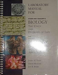 9780534568658  Laboratory Manual For Starr  Taggart U0026 39 S