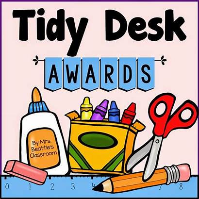 Tidy Clipart Desk Classroom Messy Student Clean