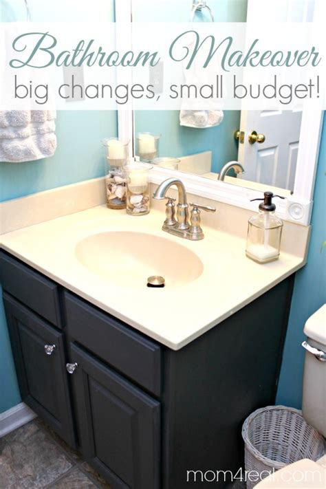 Budget Bathroom Makeover  Including Framing Out Your