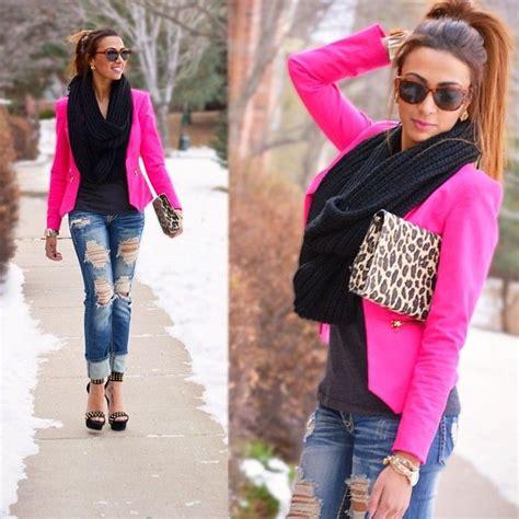 Need a hot pinker blazer. | Cerise outfit | Pinterest | Inspiration
