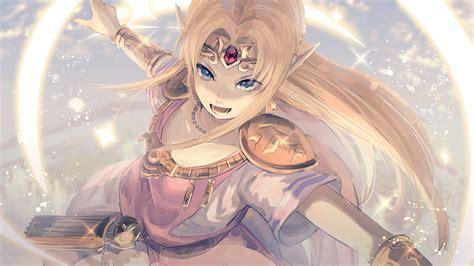 Kumamoto Nomiikun The Legend Of Zelda Princess Zelda Armor Pointy Ears Yandere