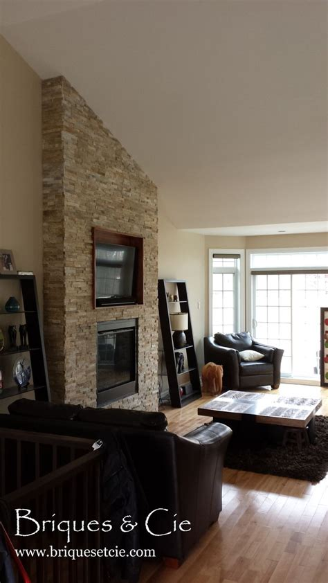 revetement mural naturelle realstone system fireplace naturelle foyer rev 234 tement mural projets