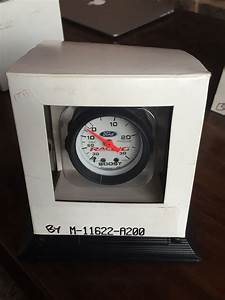 Ford Racing Gauges White Face Brand New In Box  Sealed