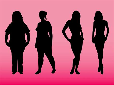 Body Types Vector Art & Graphics
