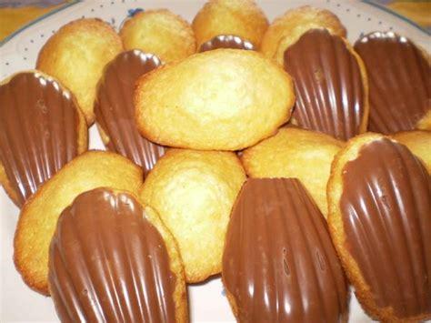recette madeleines avec chocolat