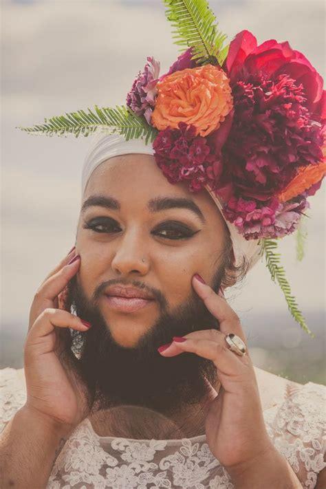 bridal   bearded dame harnaam kaur