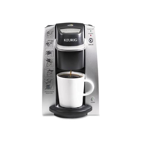 As a result, only the external water reservoir needs to be emptied prior to storing. Keurig - K130 Compact Brewer (For K-Cup® Pods)