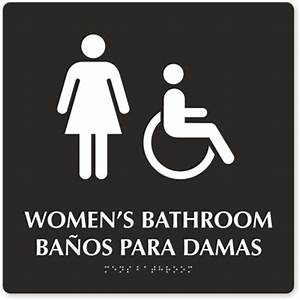 women only restroom sign wwwpixsharkcom images With women only bathroom sign