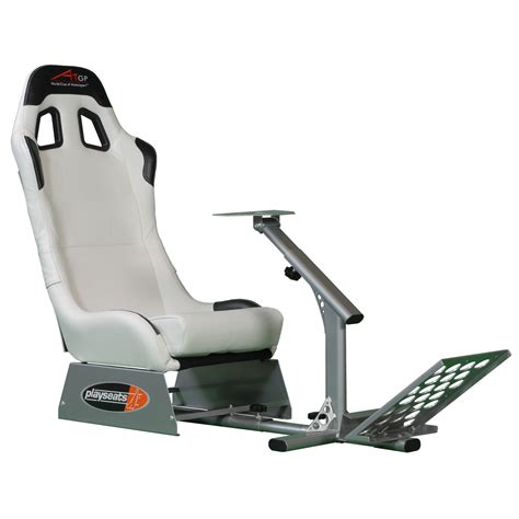 siege volant playseats a1gp siège simulation automobile blanc base