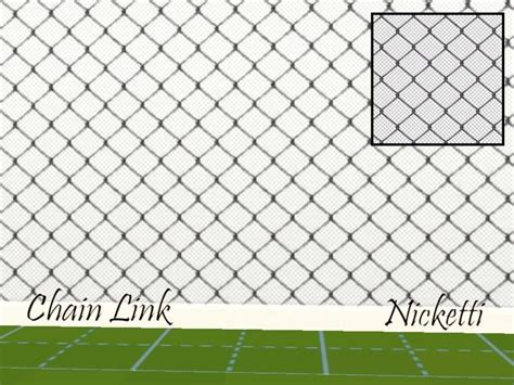 nickettis chain link fence