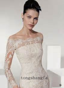 wedding dress sleeves lace sleeved lace wedding dress