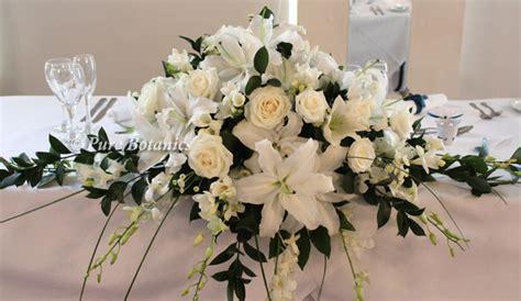 ideas   top table flower arrangement pure botanics